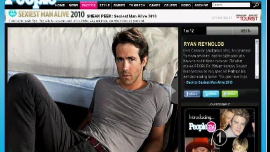 Ryan Reynolds, el hombre más sexy