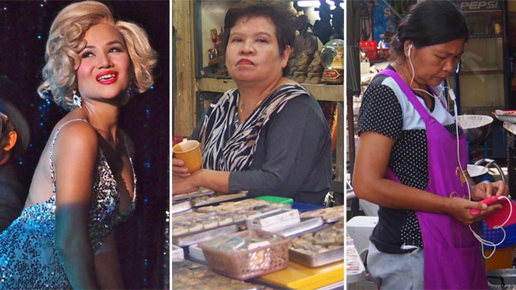 Imágenes inesperadas en Bangkok