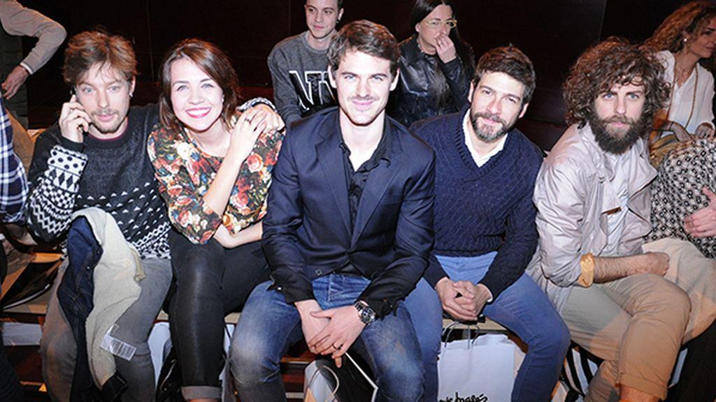 Jan Cornet, Andrea Guasch, Gonzalo Ramos, Félix Gómez y Santi Senso