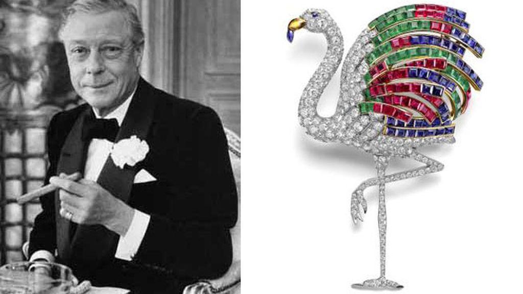 Broche 'Flamenco' para el Duque de Windsor