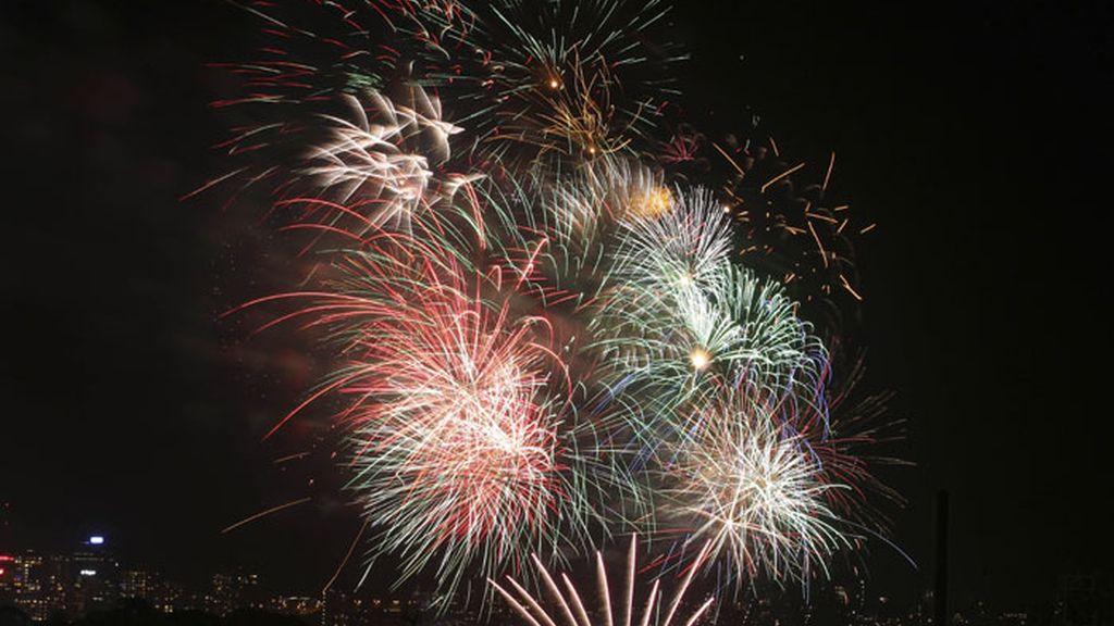 Australia celebra la llegada del 2013