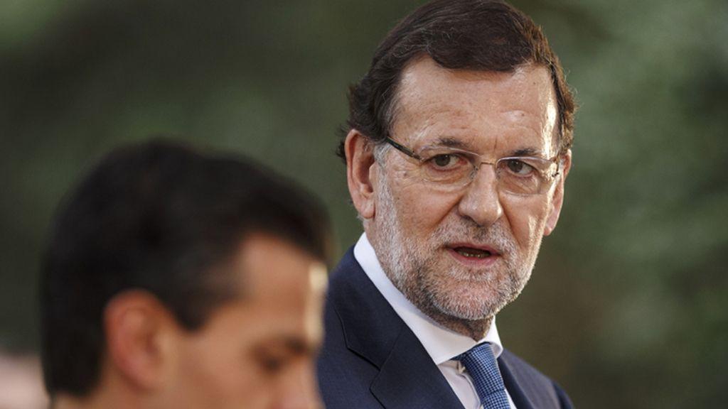 Rueda de prensa de Rajoy y Peña Nieto