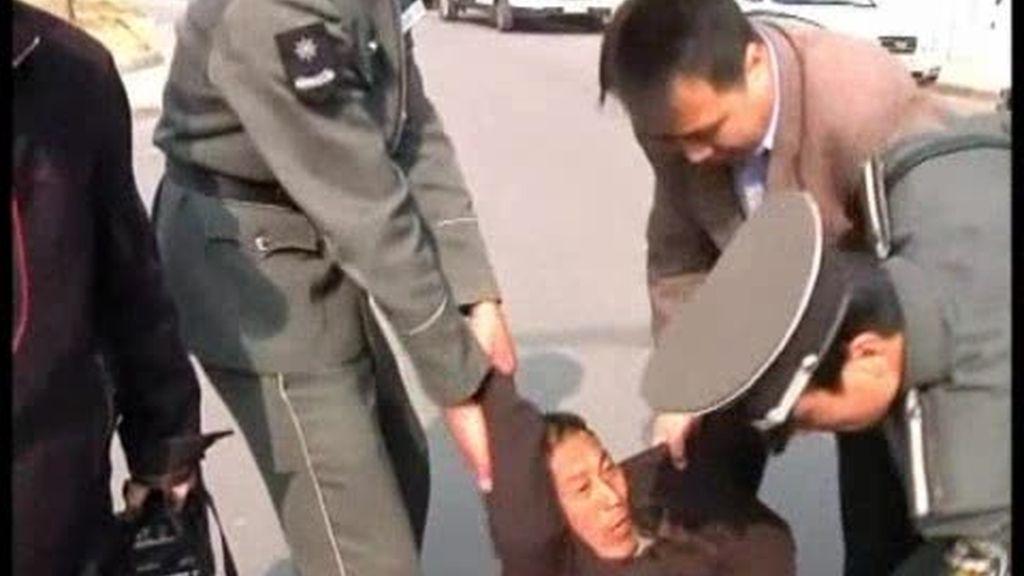 El látigo represor del régimen chino