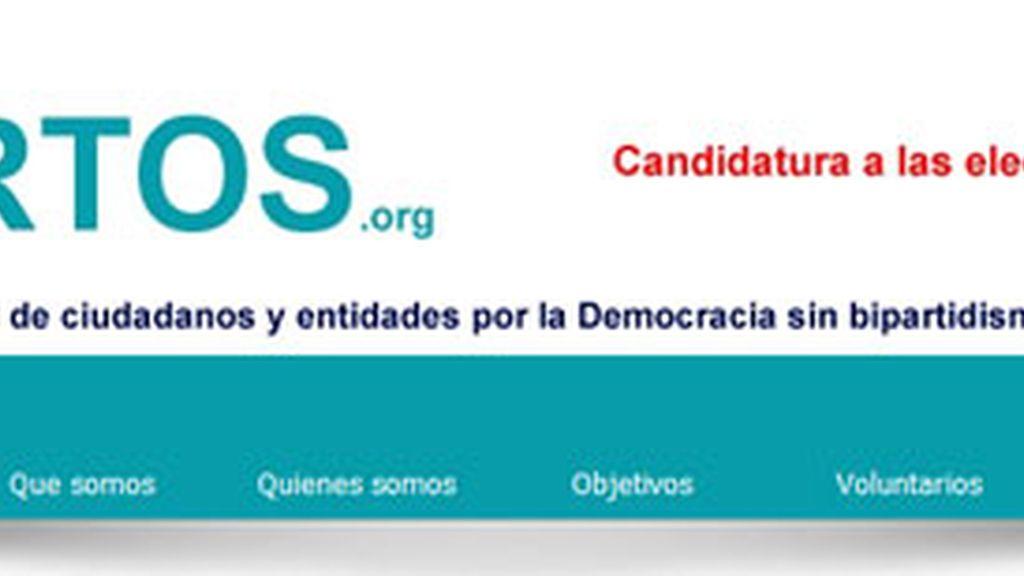 Imagen del partido Hartos.org