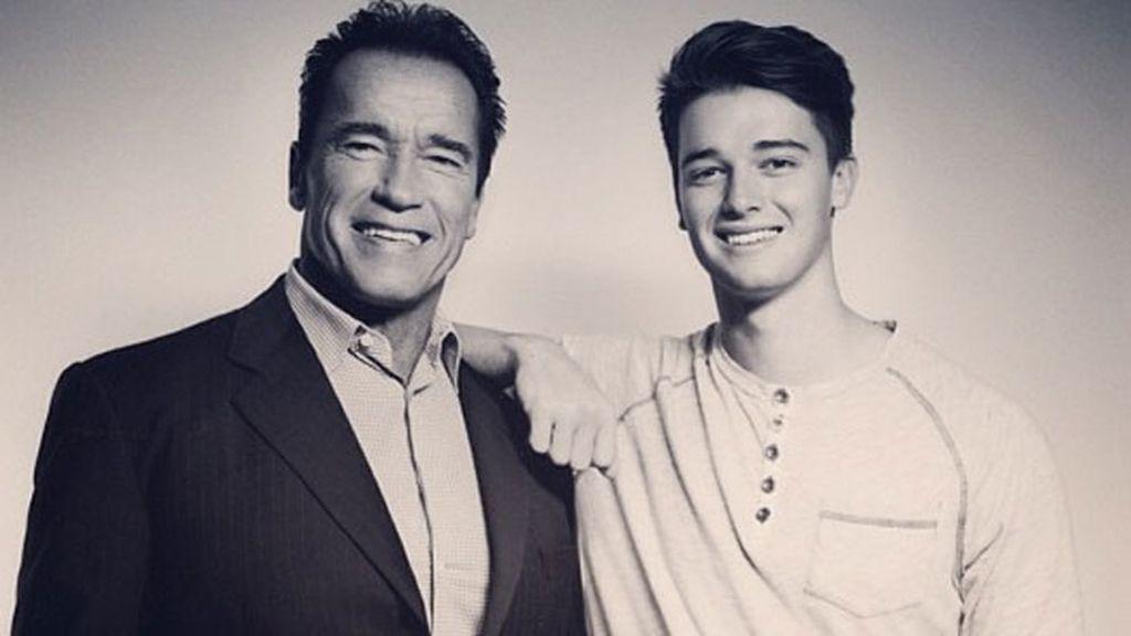 Así es Patrick Schwarzenegger
