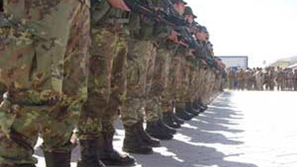 Imagen de archivo de las tropas españolas en Afganistán. Foto: EFE