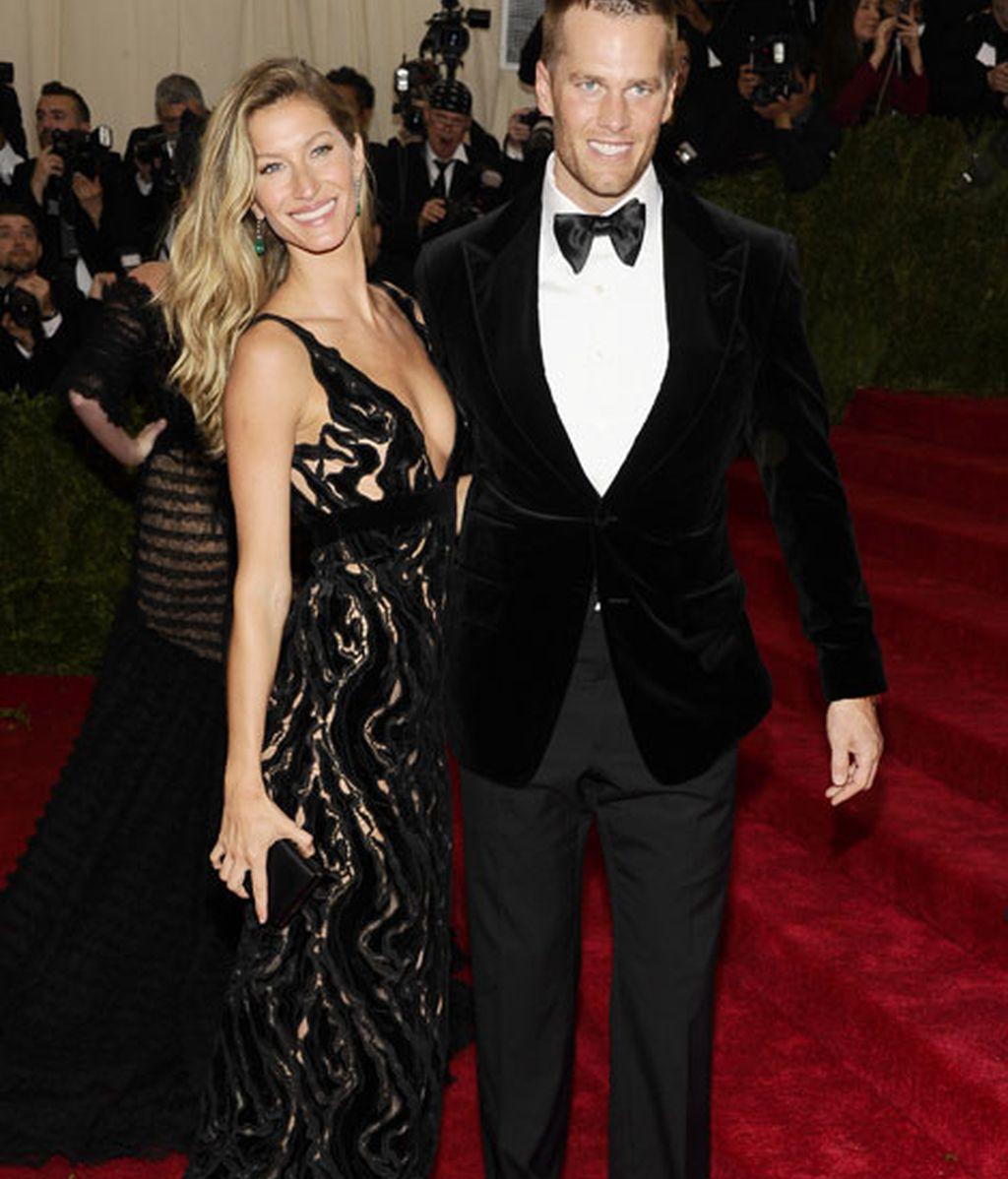 Gisele Bündchen y su marido Tom Brady