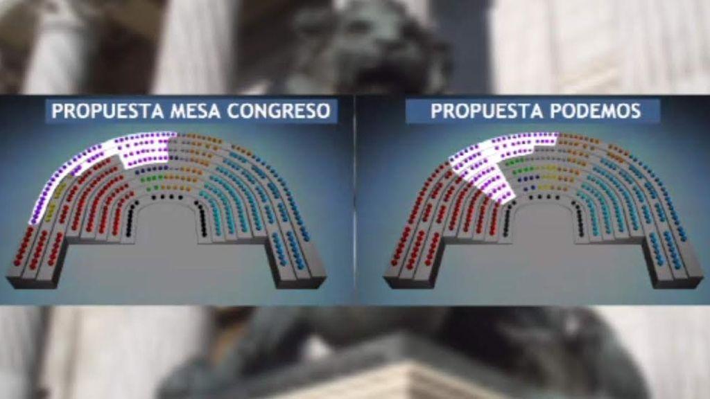 Resparto de escaños, Podemos