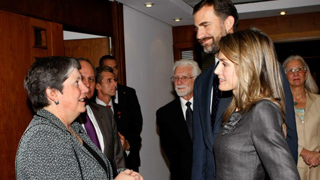 Los Príncipes de Asturias, por la privacidad en la red