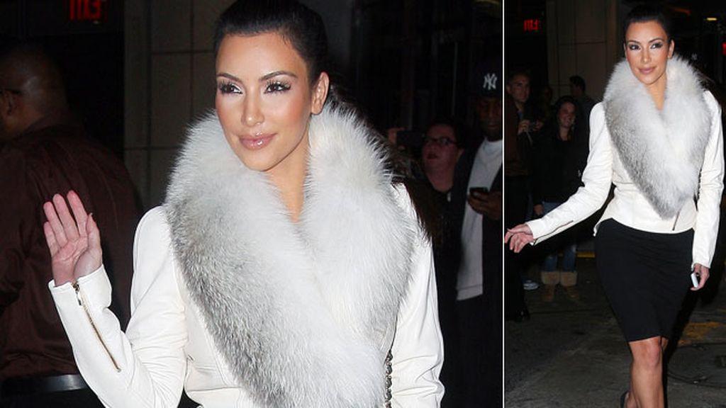 'Harinazo' a Kim Kardashian por su afición a las pieles