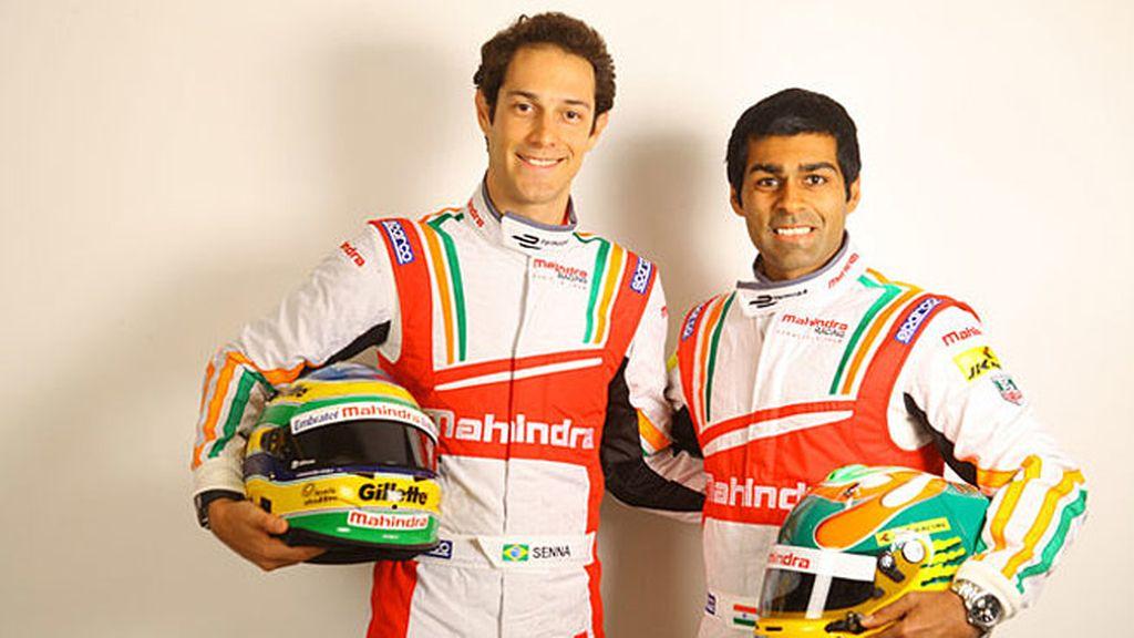 Mahindra Racing: Bruno Senna y Karun Chandhok