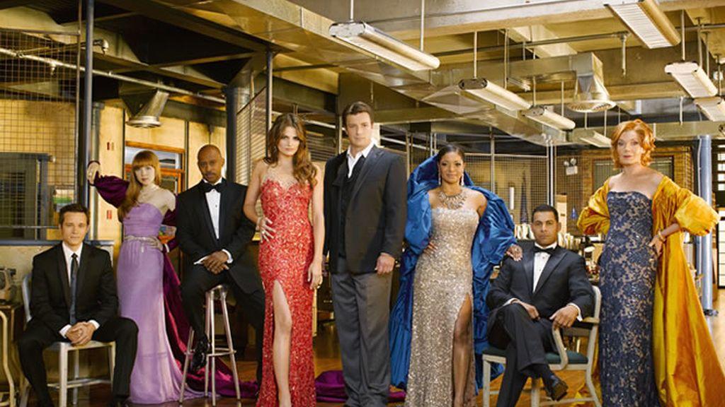 Los protagonistas de la tercera temporada