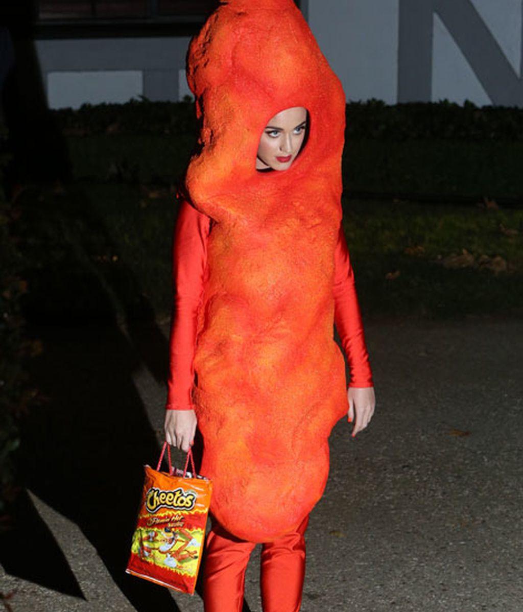 Katy Perry, insuperable con este perfecto disfraz del aperitivo de queso
