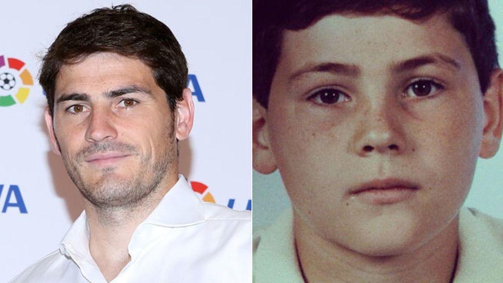 Iker Casillas: aunque pase el tiempo, se mantiene igual