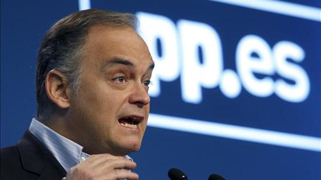 El vicesecretario de Comunicación del PP, Esteban González Pons. EFE/Archivo