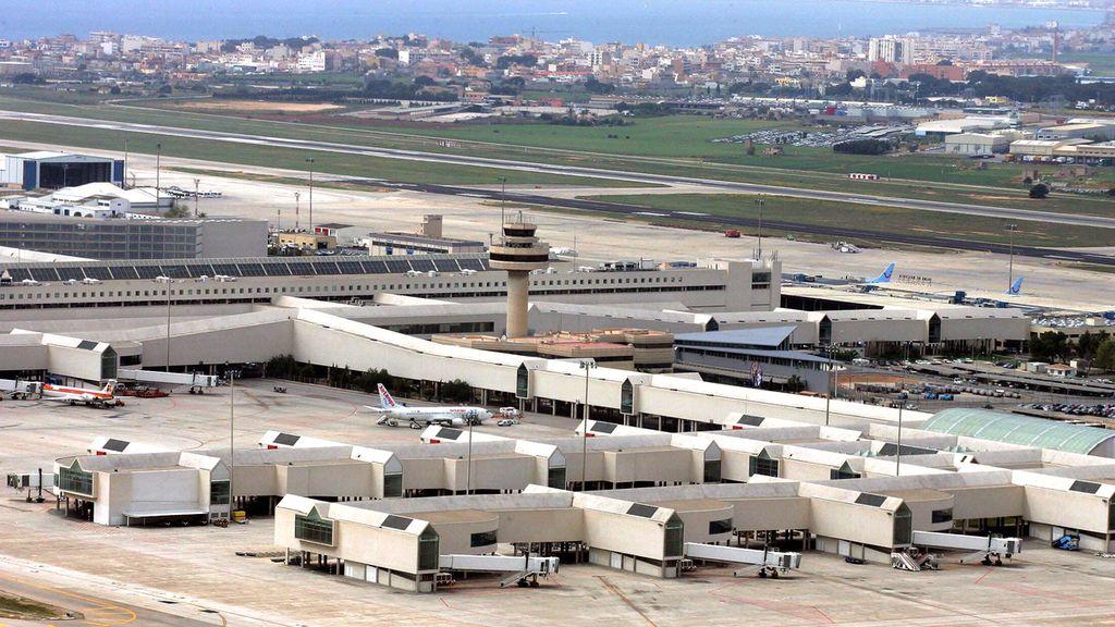 Aeropuerto de Son Sant Joan en Palma de Mallorca