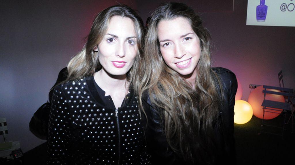 Malena Costa y Eva González, de uñas