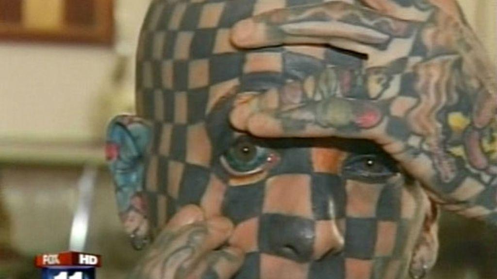 Matt Gone, el hombre más tatuado