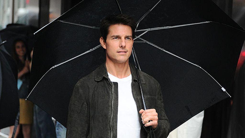 Tom Cruise, zurdo a pesar de la cienciología