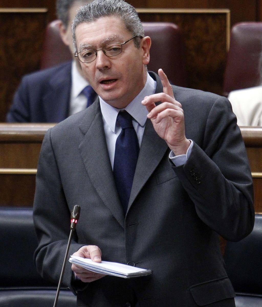 Alberto Ruiz Gallardón en el Congreso