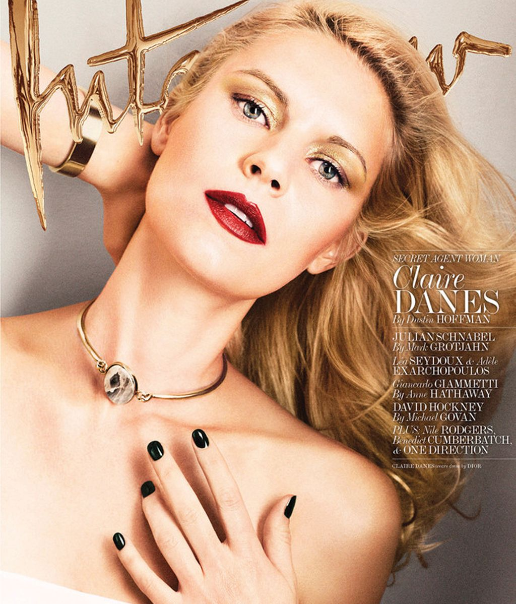 Claire Danes posa en topless para la revista 'Interview'