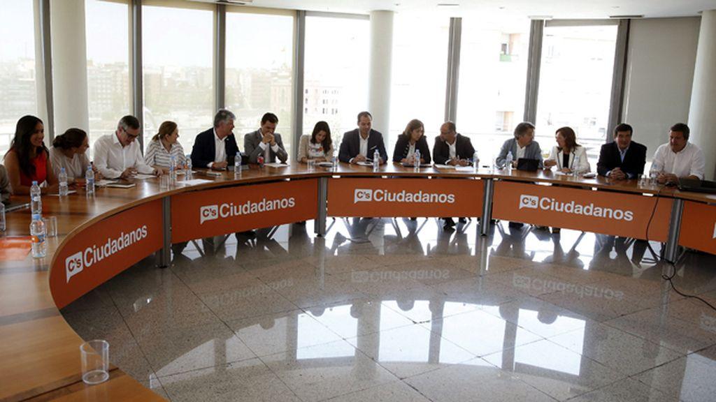 Reunión de la Ejecutiva de Ciudadanos