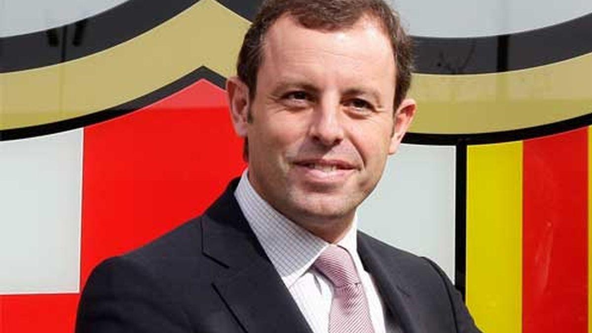 Duras declaraciones de Sandro Rosell contra el Madrid