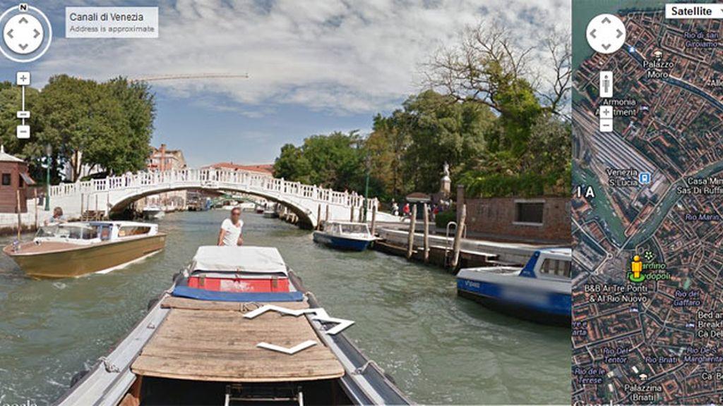 Venecia,Street View,Google,mapas,servicio de mapas,