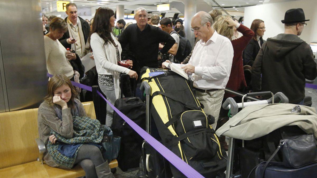 Caos en el tráfico aéreo de Inglaterra por un fallo informático