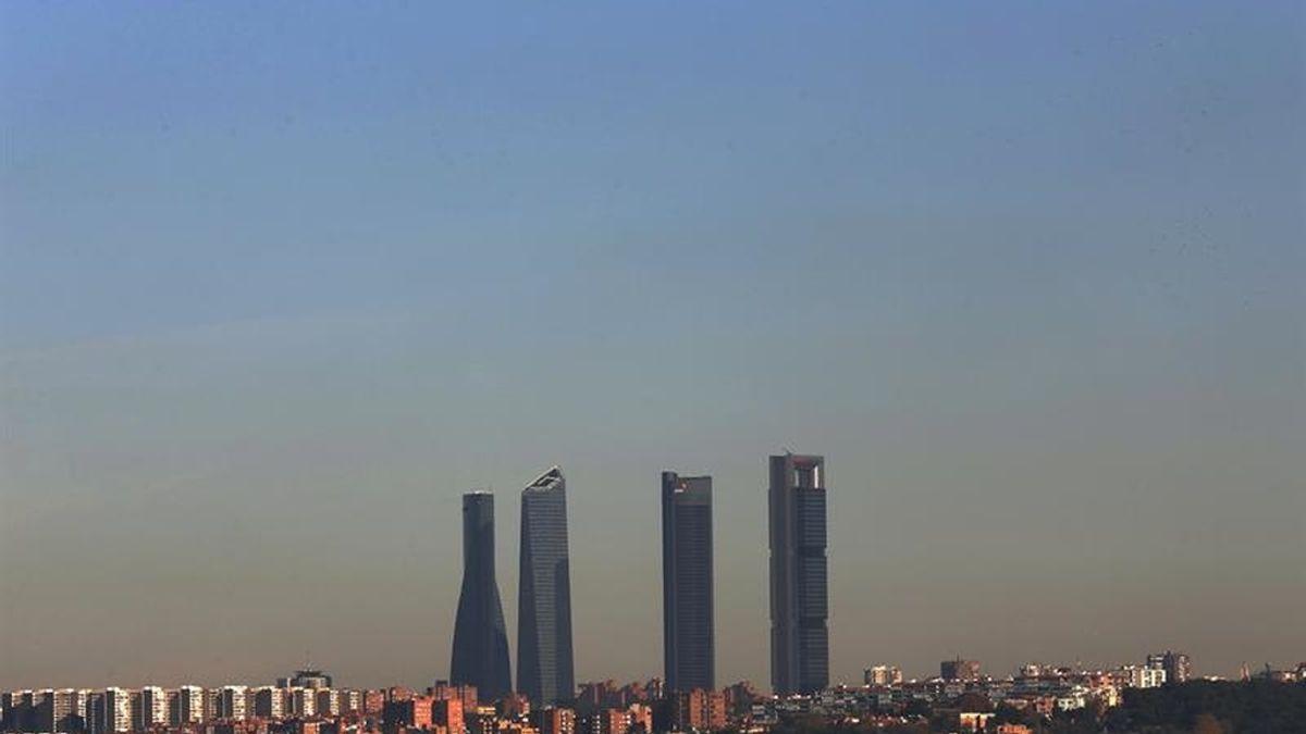 La boina de contaminación de Madrid persistirá durante días
