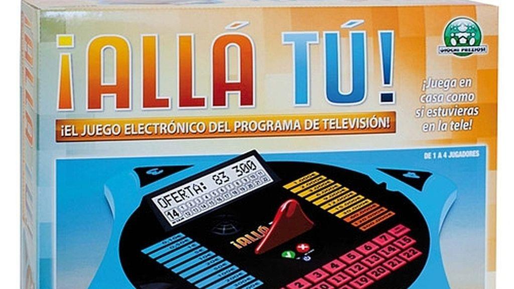 El juego electrónico de ¡Allá tú!