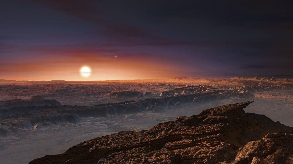 Hallan un planeta habitable que orbita la estrella más cercana a la Tierra