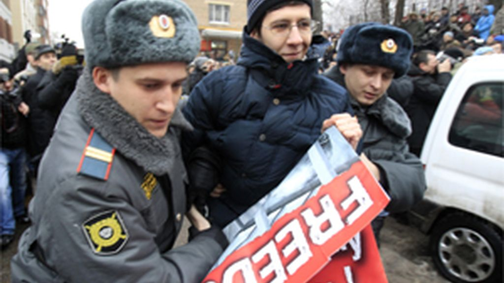 El juez declara culpable a Jodorkovski de malversación de fondos