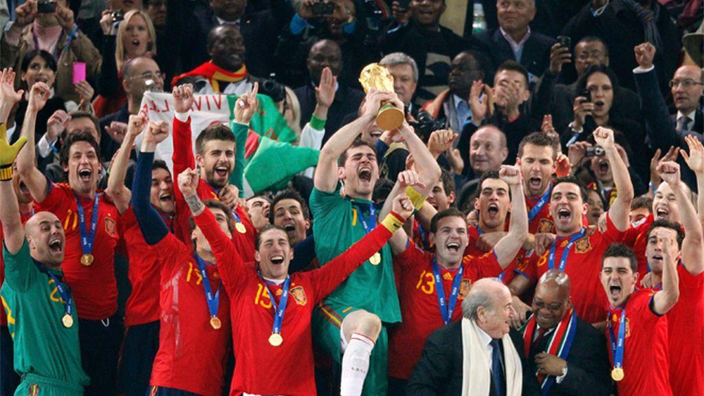 La Roja levanta la Copa del Mundo