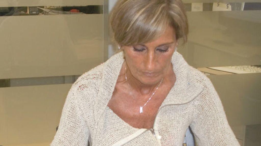 María José Fernández visita telecinco.es