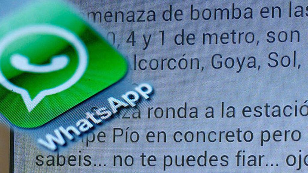 mensajes falsos,bomba,metro de madrid,amenaza de bomba