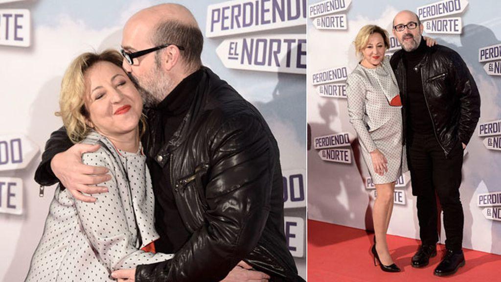 Carmen Machi y Javier Cámara, demostrando su complicidad