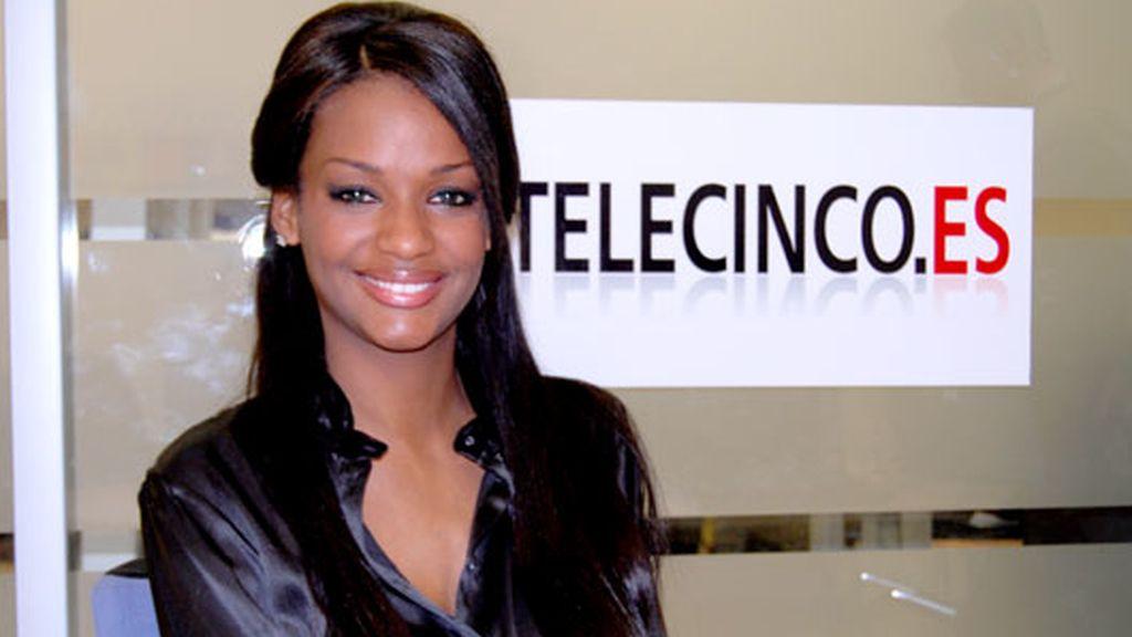 Liz visita telecinco.es