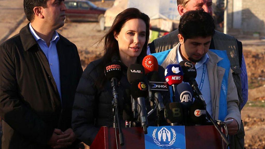 Angelina Jolie en Irak