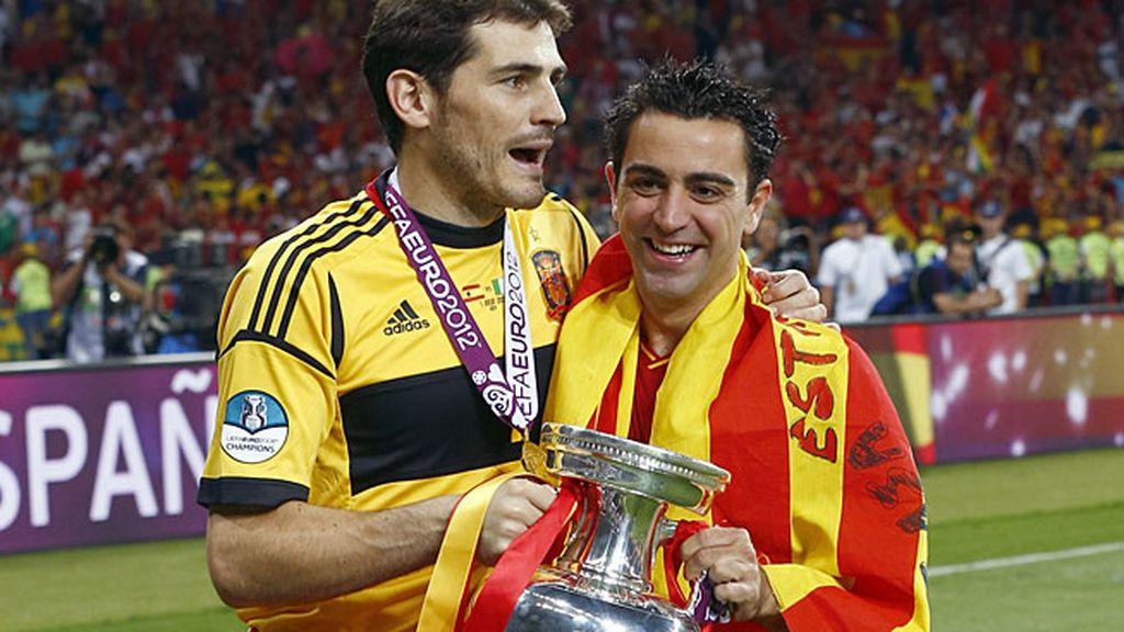 Revalidó el título de campeón de Europa en la Euro 2012