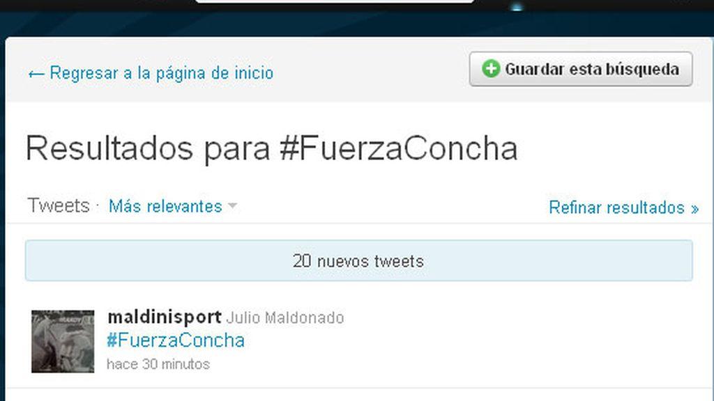 #fuerzaconcha se convierte en trending topic