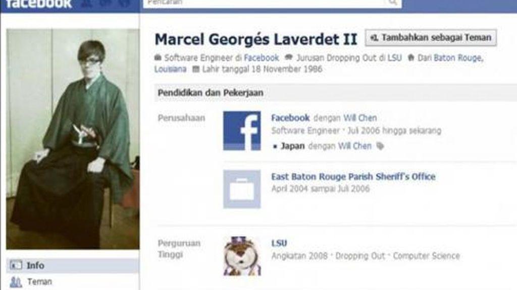 Marcel Georgés Laverdet II: Era amigo de Zuckerberg, Adam D'Angelo y Adam Sittig en Harvard