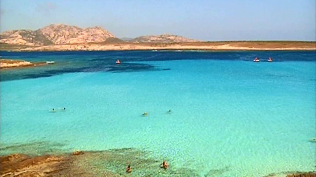 Playa en Cerdeña