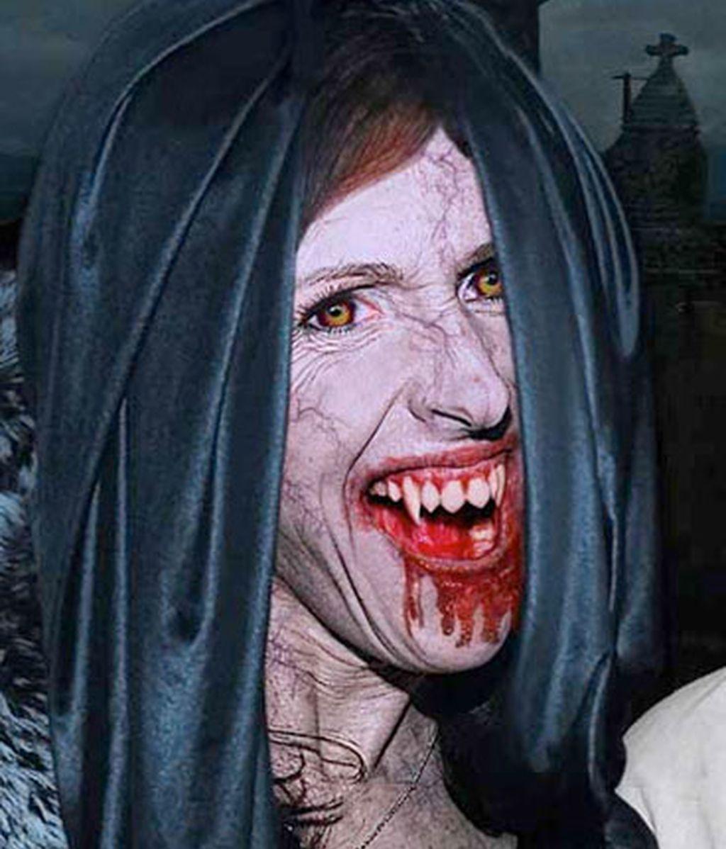 Si los famosos fueran vampiros