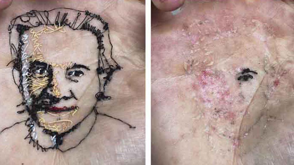 Arte hasta en la piel