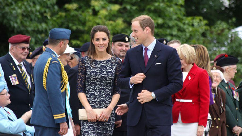 Los duques de Cambridge visitan Canadá
