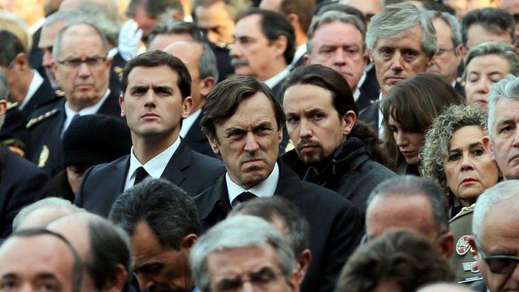 Imágenes del funeral de Estado de los policías fallecidos en Kabul