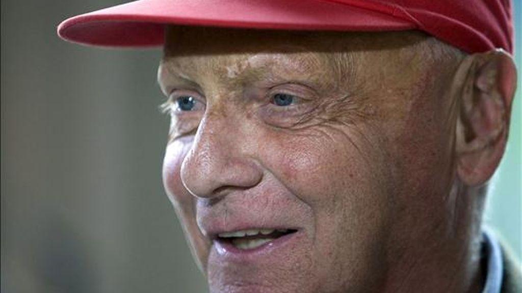 El ex corredor austriaco de Fórmula Uno Niki Lauda. EFE/Archivo