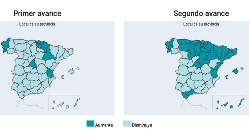 Mapa por circunscripciones