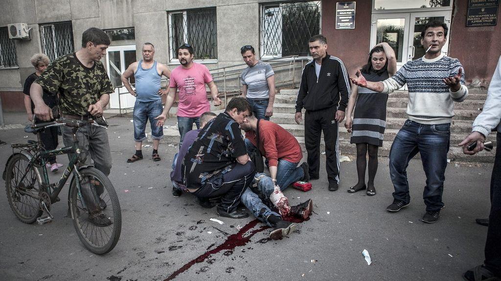 Un muerto en Ucrania